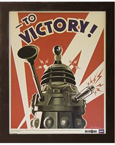 Doctor Who Dalek Framed Print