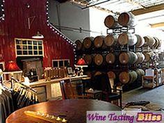 Longevity Wines event area and barrel storage