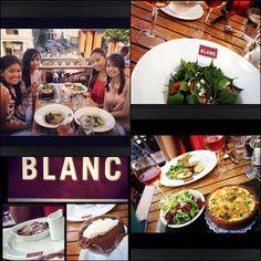 """Enter a world of French charm in one of Raymond Blanc's newest brasserie. @car_shadow @annecabz @paunelissa . #bliss #brasserieblanc #blanc #raymondblanc #foodporn #foodgasm #nomnom #foodislove #yumyum #yummy #instamood #instagood #igerspinoy #statigram #happydays #photooftheday #picoftheday #all_shots #igaddict #instafood #pinay #picstitch #herb #salad #haddock #rose #wine"""