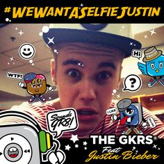 #WeWantASelfieJustin is worldwide trend right now! Why?? #JustinBieber changed his hair color, he might of had cut it!! OMG!!! anyway this pic is just x fun