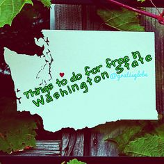 Follow me on tumblr for more free things to do in Washington State!