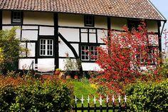 """Vakwerkhuis"" in the South of Limburg-Netherlands"