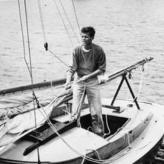 I never tire of images of the Kennedy's sailing.
