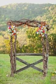 Country Wedding Floral Inspiration = COUNTRY WEDDING ARBORS - RUSTIC  WEDDING ARBOR