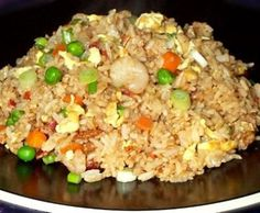 Benihana's Fried Rice Recipe. ..another pinner said this is GREAT! can use leftover pork roast