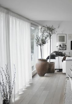 65 suggestions for decoration in the living room! - Plant ideas , 65 suggestions for decoration in the living room! unique decorations for the living room white curtains The post 65 suggestions for decoration in the . Sheer Linen Curtains, White Curtains, Grommet Curtains, Pinch Pleat Curtains, Net Curtains, Striped Curtains, Curtain Panels, Shower Curtains, Home Living Room