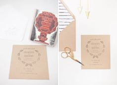 """I love the idea of a custom made rubber stamp for the invitations; """"home is wherever I am with you"""" for a destination wedding"""
