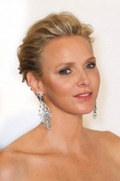 Princess Charlene of Monaco attends the 65th Monaco Red Cross Ball Gala 2013 at Sporting Monte-Carlo