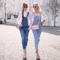 Match with you bestie in double denim #AsSeenOnMe
