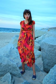 new ootd with maxi dress: http://jointyicroissanty.blogspot.com/2017/07/colorful-maxi-dress.html