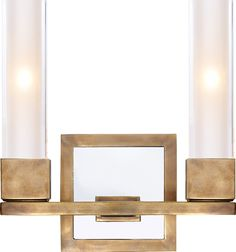 KENDAL DOUBLE SCONCE