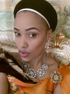 HRH Inkhosikati LaDube of Swaziland African Beauty, African Fashion, Traditional Hairstyle, African Royalty, We The Kings, Modern Princess, Royal Brides, African Diaspora, King Queen