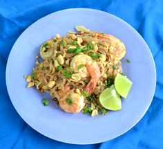 Healthy Pad Thai {Skip the greasy takeout tonight & make this healthy & easy gluten free recipe instead}