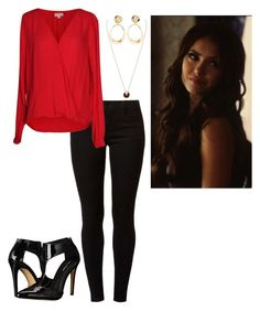 """Katherine pierce"" by gabi-809 on Polyvore featuring Dorothy Perkins, Velvet by Graham & Spencer, Michael Antonio and Ippolita"