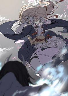 @naoposan: 尚2019-01-15 03:06#刀剣乱舞大正浪漫遠征企画召使として潜入してた先で敵と遭遇した乱くん浪漫っぽさがなくなってしまいましたがタグ付け失礼します。素適な企画ありがとうございました! Art Anime Fille, Anime Art Girl, Comic Kunst, Comic Art, Character Concept, Character Art, Poses References, Anime People, Beautiful Anime Girl