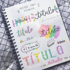apuntes Drawing Tips brain drawing Bullet Journal School, Bullet Journal Titles, Bullet Journal Banner, Journal Fonts, Bullet Journal Notebook, Bullet Journal Aesthetic, Bullet Journal Numbers, Lettering Tutorial, Bullet Journal Inspiration