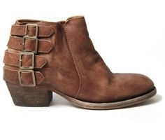 Boot Hunt: Sadly, these aren't for sale anymore, but maybe I can find them on ebay. Love the buckles! | Hudson Shoes