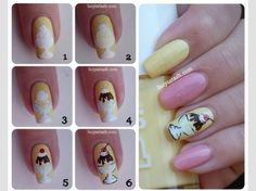 Ice cream Sundae Nail Art  #Fashion #Beauty #Trusper #Tip