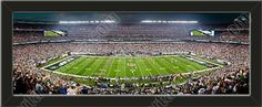 One small New York Jets stadium panoramic, framed to 27 x 9.5 inches.  $69.99 @ ArtandMore.com