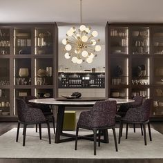 Poliform contemporary furniture: the Italian brand of fine and designer furniture with high quality finishings. Flat Interior, Interior Design, Contemporary Furniture, Minimalism, Furniture Design, New Homes, Shelves, Instagram Posts, Kitchen