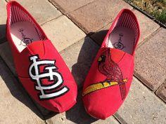 St. Louis Cardinals Baseball Handmade by CDAdorableAdornments, $55.00