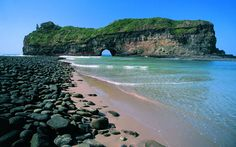 South Africa, Coffee Bay on the Wild Coast