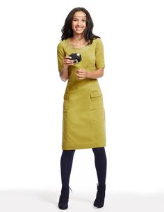 Hampshire Dress WH714 Smart Day Dresses at Boden