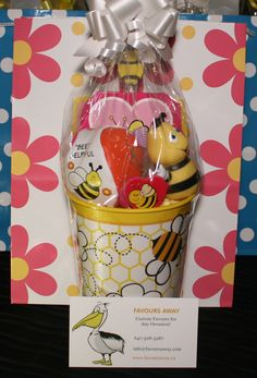 Honey Bees #lootbags by #Favours Away.