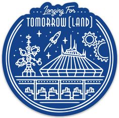 Longing for Tomorrow (Land) Sticker Diy Disney Ears, Disney Love, Disney Art, Disney High, Silhouette Cameo Disney, Silhouette Cameo Projects, Disney Diy Crafts, Stencil Templates, Stencils