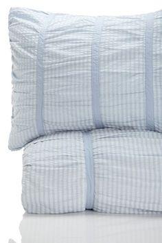 SXYz Timeless Love Seersucker Ruffled 100% Cotton Duvet - for a girl or boys room...