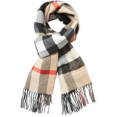 "Burberry Women's Reversible Check Pocket Scarf, 76"" x 18"" (37.195 RUB) ❤ liked on Polyvore featuring accessories, scarves, multi, burberry shawl, checkered scarves, long shawl, long scarves and oblong scarves"