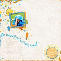 SummerShine Word Art and Brush Set Vol.2 :: $2.00 Tuesday! :: Plain Digital Wrapper, Ltd.