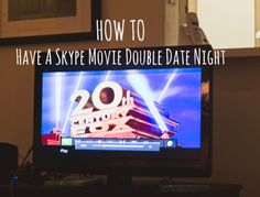 Cute Movie Night Idea with distant friends/family.
