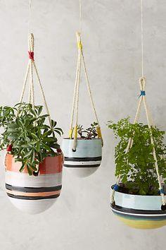 Tigris Hanging Garden Pot - anthropologie.com