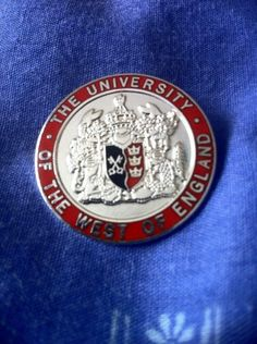 Everyone seems to be sharing their graduation badges today, so here's mine.    via Twitter @Marc Camprubí Camprubí Anthony Evans