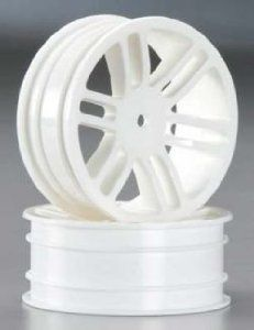 Thunder Tiger PD7952-W Wheel Front 33mm White S Hawk XXB by Thunder tiger. $5.53