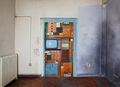 Michael Johansson: Tetris – Geozavod, 2012. Objects from the storage room at Geozavod.