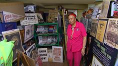 A Treasure Trove of African-American Memorabilia Under One Roof    Elizabeth Meaders owns some 50,000 pieces of African American historic items