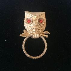 Spotted while shopping on Poshmark: Cute Vintage Owl Brooch! #poshmark #fashion #shopping #style #Vintage #Jewelry