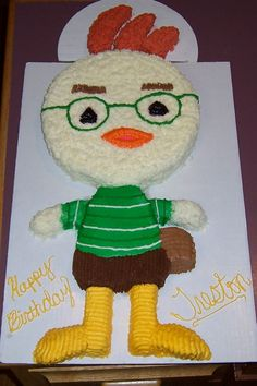 Chicken Little Birthday Cake - This is a great Chicken Little cake. It came out alot better than i thought it would.
