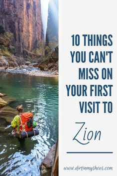 There are so many things to do in Zion National Park, but I've narrowed it down to a short list of things you really can't miss. I've also included a bunch of helpful information to help you navigate through Zion and make the most of your time. Have a great adventure! Zion National Park, National Parks, Land Of Enchantment, Greatest Adventure, The Good Place, Things To Do, Road Trip, America, Vacation