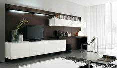 Nappali bútor ötletek - TV médiafal variációk - Alf Da Fre