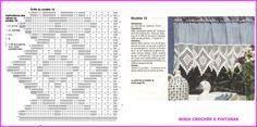 MIRIA CROCHÊS E PINTURAS: PONTILHAS DE CROCHÊ N° 699