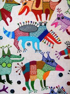 Textile work Ivan Semesyuk