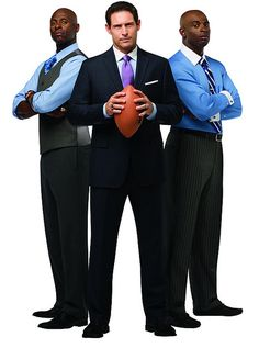 Van Heusen Institute of Style Professors Jerry Rice, Steve Young and Deion Sanders are the definition of swagger.