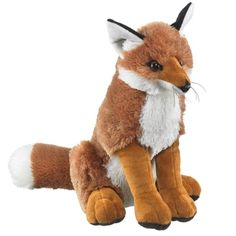 Red Fox (Trendy Plush) at theBIGzoo.com, a toy store with over 12,000 products.