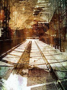 'Brücke' von Burkhard Kohnert bei artflakes.com als Poster oder Kunstdruck $16.63