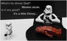 Star Wars humor. My geek is showing.