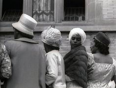 at a Harlem wedding, 1962