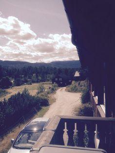 Utsikt fra terrasen